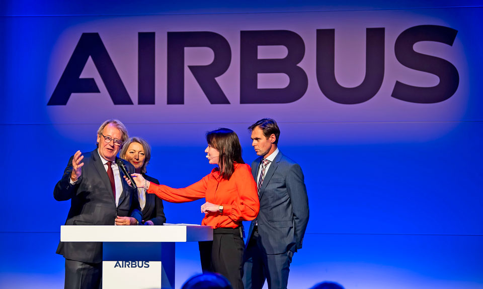 Opening airbus production facilty