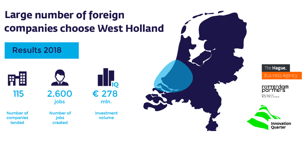 Large numbers of companies choose West Holland